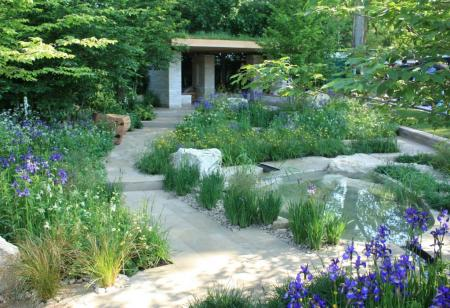 RHS Chelsea 2014 - The Homebase Garden – Time to Reflect