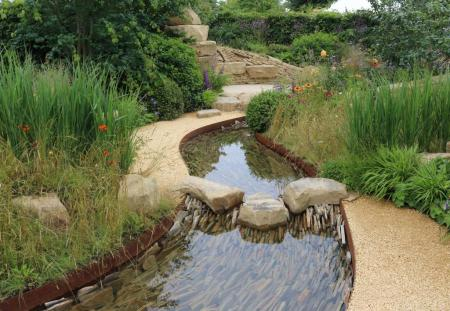 RHS Hampton Court 2016 - The Zoflora: Outstanding Natural Beauty Garden