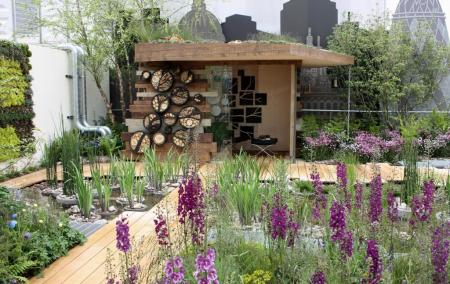 RHS Chelsea 2013 - RBC Blue Water Roof Garden