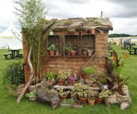 National Trust garden shed at the Tatton park flower show
