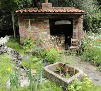 The Old Forge artisan garden at RHS Chelsea 2015