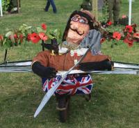World War 1 scarecrow